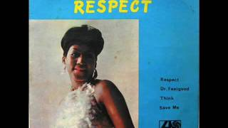 "Aretha Franklin - Respect / Dr. Feelgood / Think / Save Me - 7"" EP Israel - 1968"