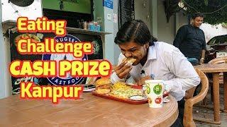 Challenge Meal | Man Vs Food | Cash Prize | Kanpur