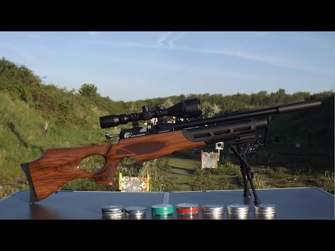 CHRONOGRAPH TEST OF THE GAMO WHISPER IGT & FALCON PRAIRIE BM 04 05