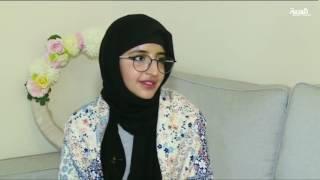 فتاة سعودية ترعى اسد مفترس