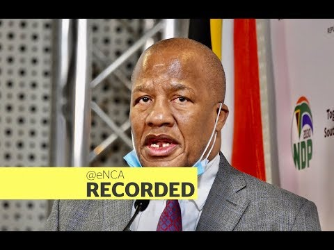 Minister Jackson Mthembu briefs media on the outcomes of the Cabinet meeting