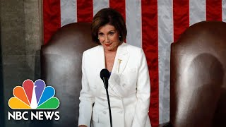 Speaker Nancy Pelosi Calls State Of The Union Speech 'A Manifesto Of Mistruths' | NBC News