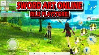 Sword Art Online Rilis Playstore Open World Anime Mantap !
