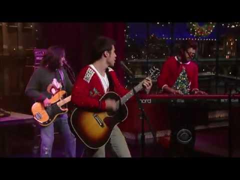 Kris Allen - Live Like We're Dying ~ Letterman