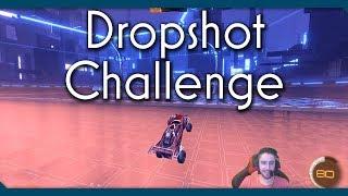 Destroy The Entire Dropshot Floor Without Scoring? | Rocket League