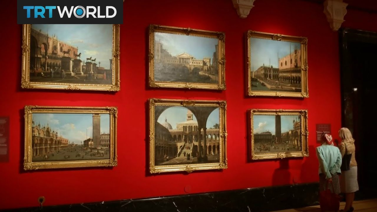 Showcase Canaletto S Paintings In Buckingham Palace Youtube