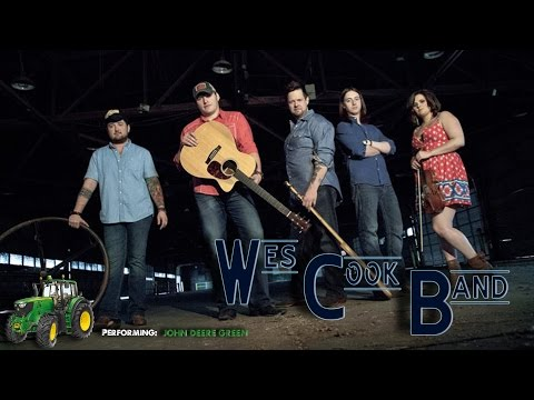 "Wes Cook Band- Performing ""John Deere Green"