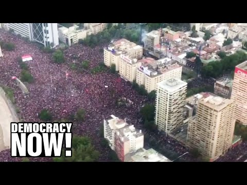 """One Million Take to Streets of Chile in the """"Largest Mobilization Since the End of Dictatorship"""""""