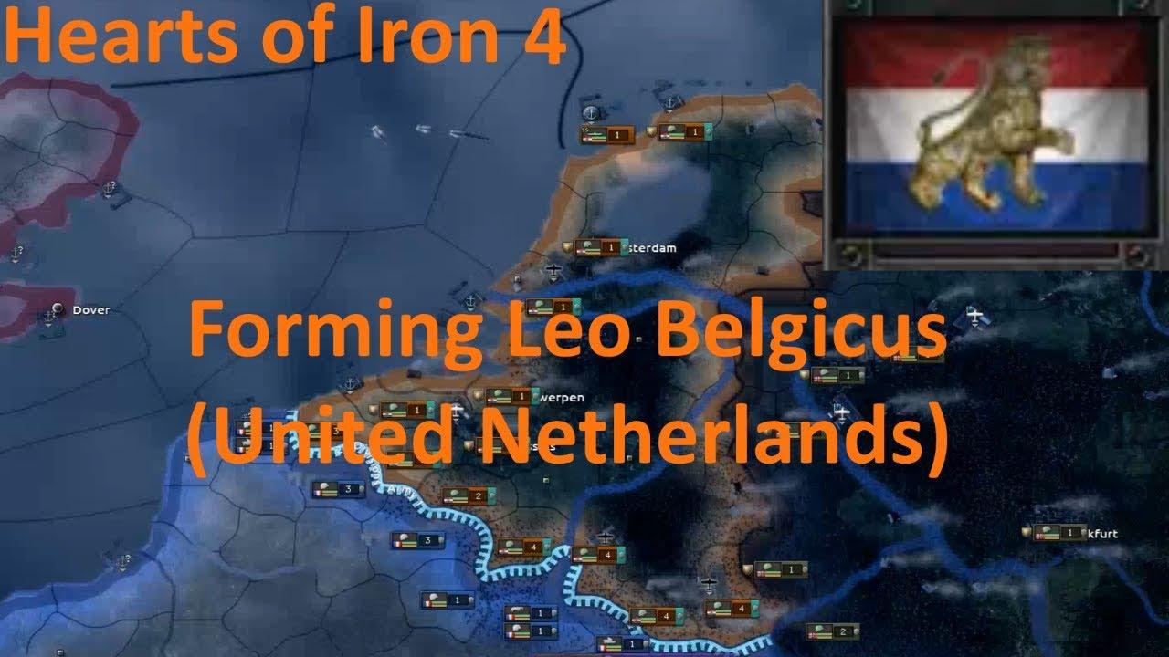 HOI4 - Forming Leo Belgicus (United Netherlands) - Episode 07