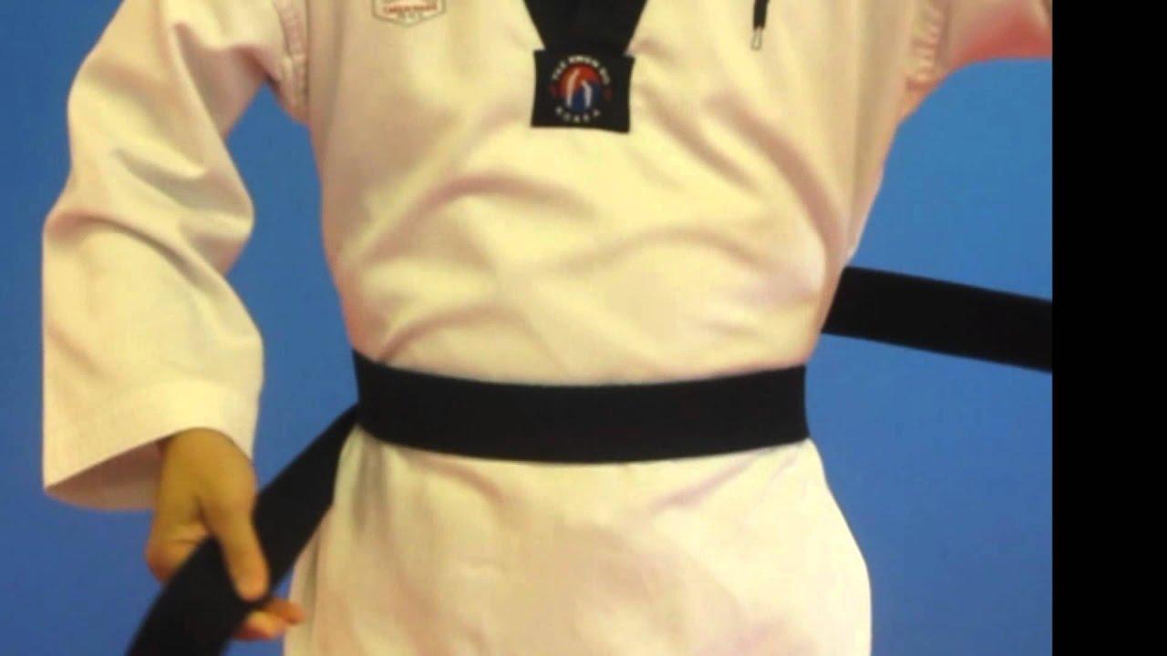 How To Tie A Taekwondo Belt