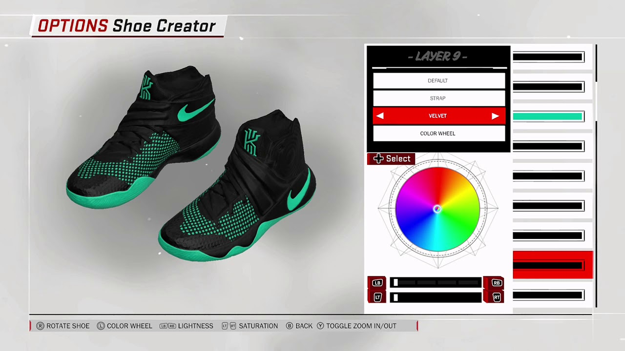 separation shoes 3b8c9 977f0 NBA 2K18 Shoe Creator - Nike Kyrie 2