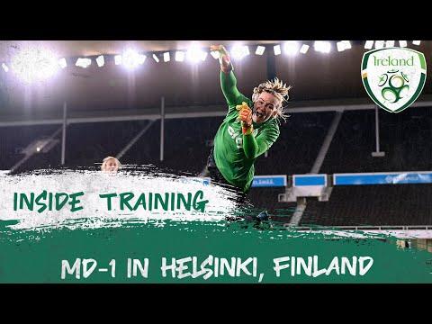 INSIDE TRAINING | MD-1 in Helsinki, Finland