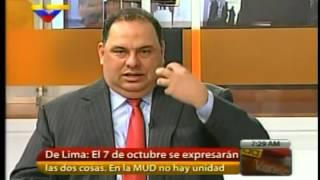 David De Lima,  Henrique Capriles Radonski, sostiene un doble discurso. ...