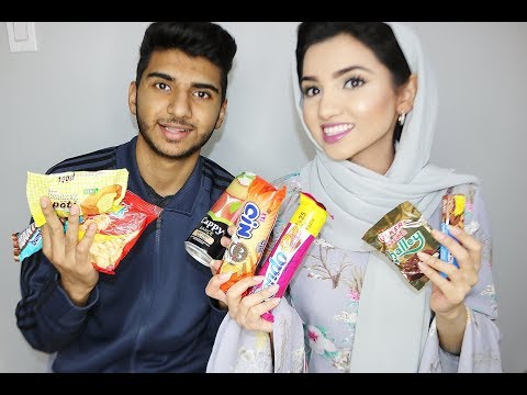 TASTE TEST SNACKS FROM TURKEY | SAIMASCORNER