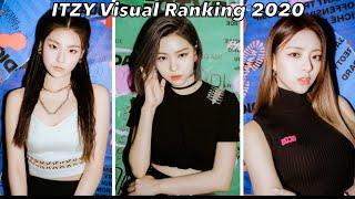 ITZY Visual Ranking 2020 (To Korean Beauty Standards)