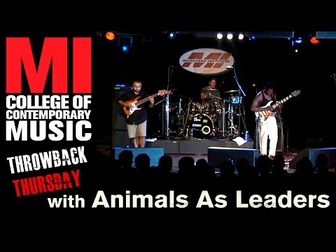 Animals As Leaders Throwback Thursday From the MI Vault 10/17/2012