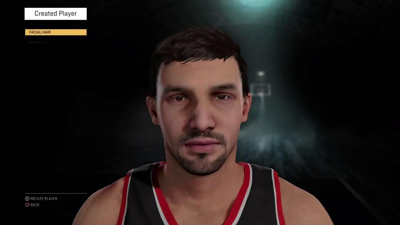 NBA 2K16] How to create Peja Stojakovic