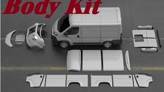 Body Kit Conversion Fiat Citroen Peugeot dodge Old Type H