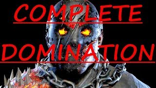 COMPLETE DOMINATION!! JASON KILLED! (Friday the 13th Game)