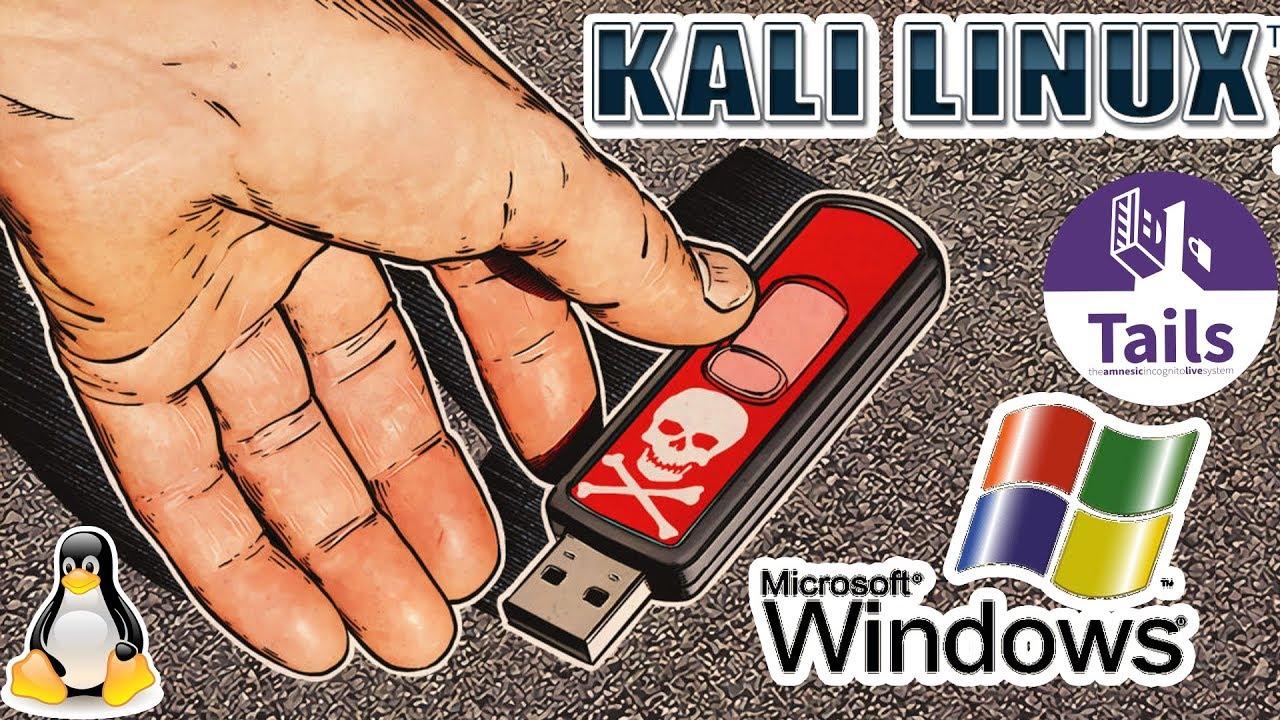 ФЛЕШКА НА ВСЕ СЛУЧАИ ЖИЗНИ: KALI LINUX, TAILS, Windows XP-10 и тд.