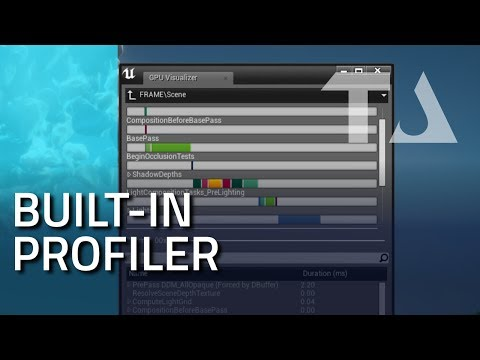 UE4 Graphics Profiling: GPU Visualizer