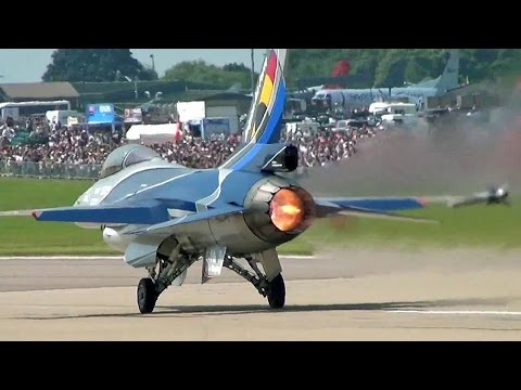 Great F-16 Actuator Sound.