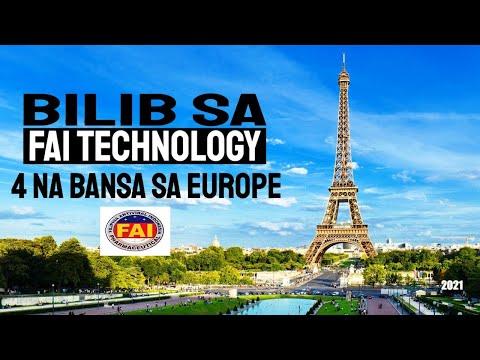 FAI TECHNOLOGY LATEST NEWS UPDATE 2021 : BILIB ANG APAT (4) NA BANSA SA EUROPE By Super Mario Marcos