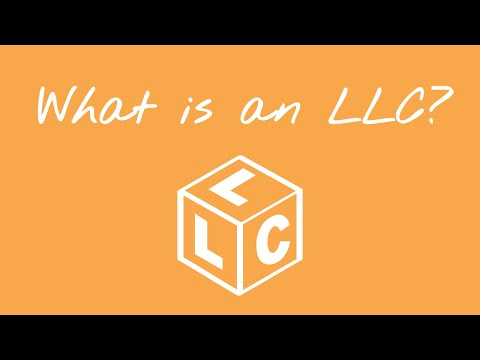 What is an LLC or Limited Liability Company?