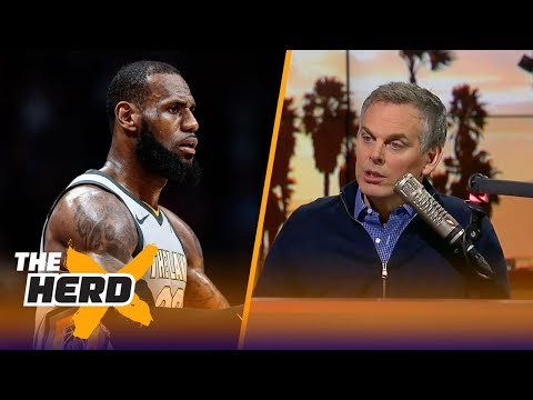 Colin reacts to report: LeBron is narrowing the list of teams he'll play for next season   THE HERD