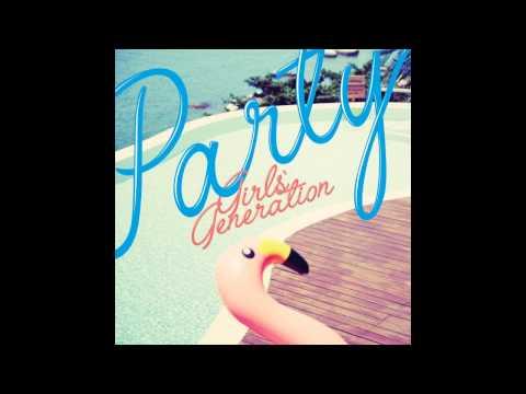 [Single] Girls' Generation [소녀시대] – PARTY [Audio]