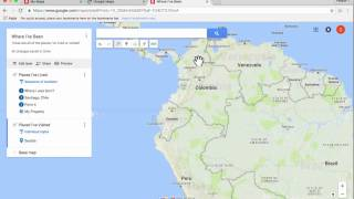 Google My Maps Tutorial 2016 Free HD Video