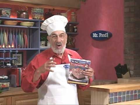 Mr food tv favorites cookbook youtube mr food tv favorites cookbook forumfinder Image collections