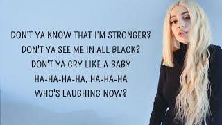 Ava Max - Who's Laughing Now (Lyrics)
