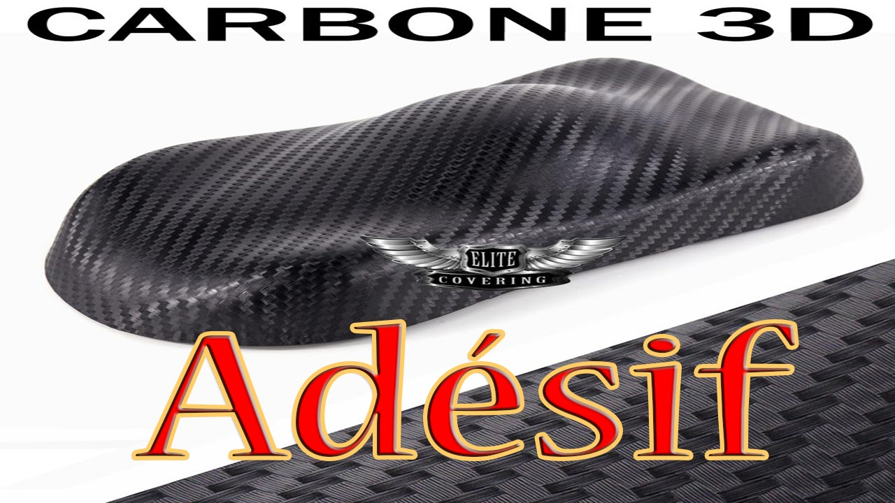 film adh sif pour covering carbone 3d voiture moto. Black Bedroom Furniture Sets. Home Design Ideas