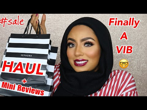 SEPHORA SALE HAUL April 2018 + Mini Reviews on Skincare & Makeup I Got!