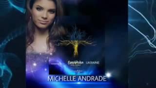 "Eurovision Ukraine 2017 - MICHELLE ANDRADE feat. MOZGI - ""Amor"" Ukraine's Selection"