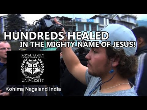 Hundreds healed in India