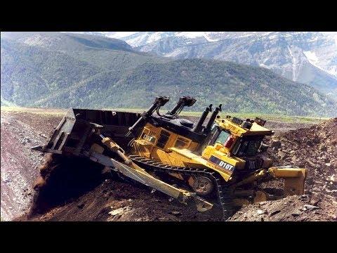 TOP Dangerous IDIOTS Operator Heavy Equipment Bulldozer Fail Win Skill, Bulldozer Loading Fail