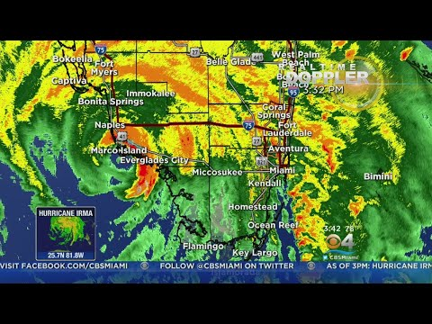 3PM UPDATE: Hurricane Irma Moves Through Broward, Dade County