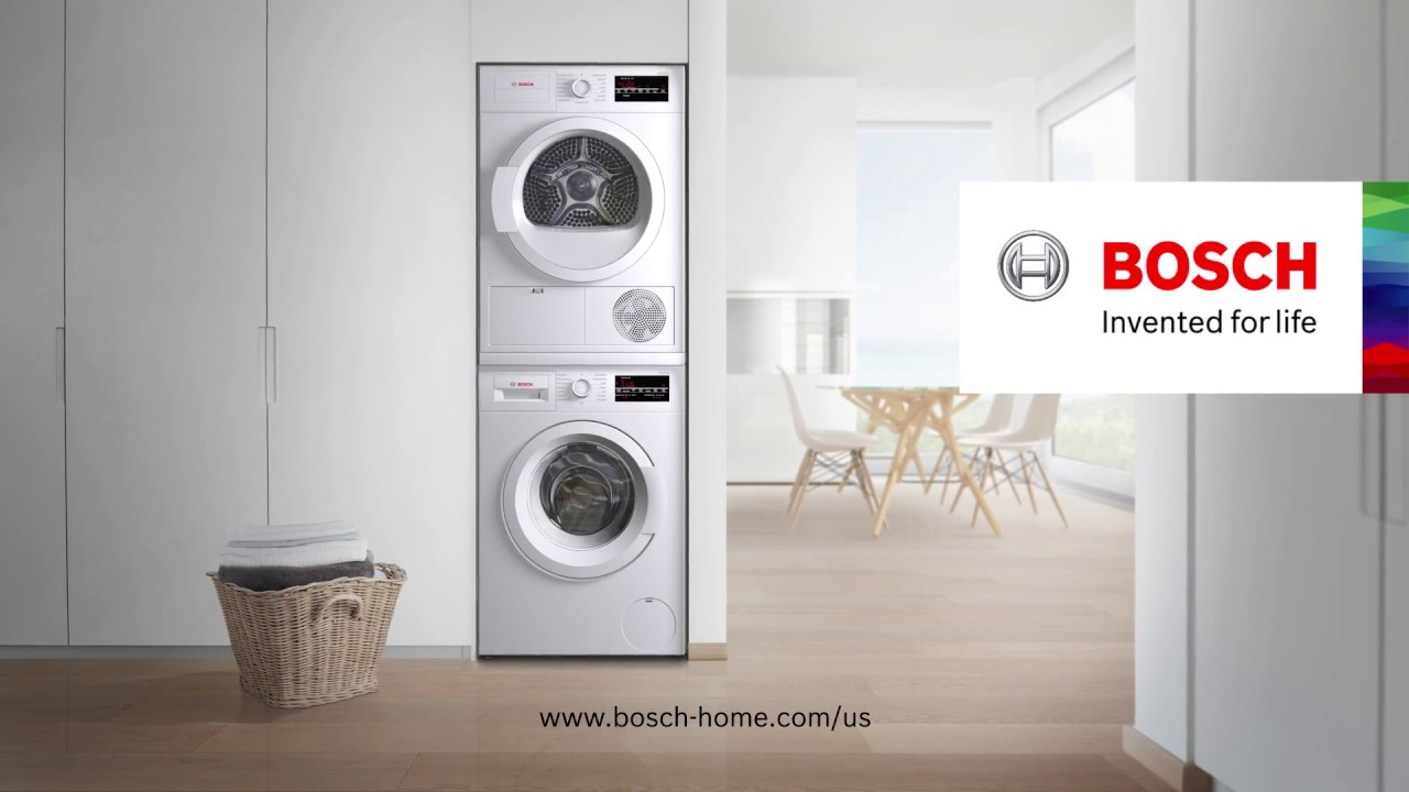 Simplify Laundry Day With Bosch Home Liances