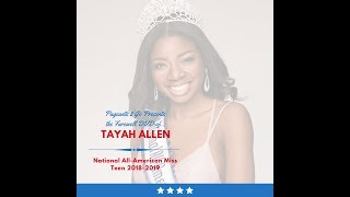 National American Miss Farewell DVD by Pageants 2 Go - Tayah Allen