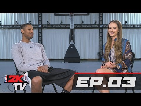 Michael B. Jordan Talks NBA 2K17 MyCAREER - NBA 2KTV S3. Ep. 3