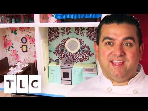 Super Detailed Life-Size Dollhouse Cake | Cake Boss