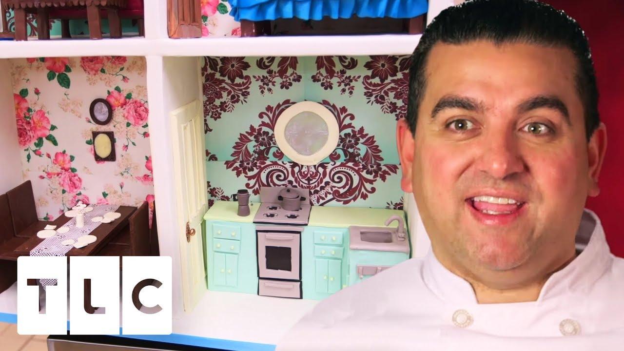 Super Detailed Life Size Dollhouse Cake Cake Boss Youtube