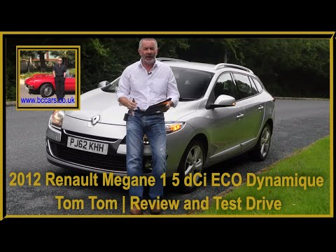 2012 Renault Megane 1 5 DCi ECO Dynamique Tom Tom | Review And Test Drive