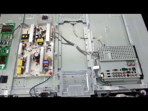 LCDTV를 LEDTV로 백라이트 개조하는방법 수리하는요령