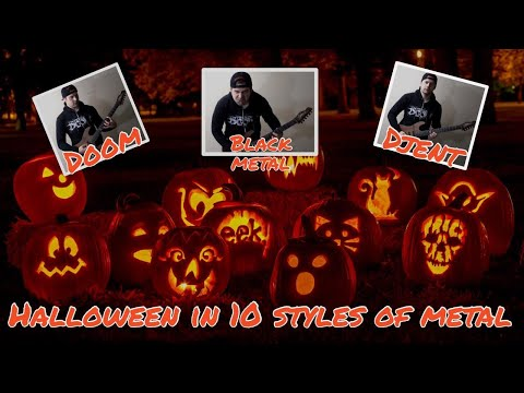 Halloween in 10 styles of metal