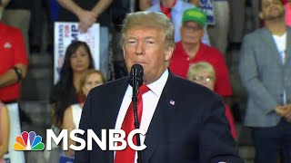 President Donald Trump Holds Campaign Rally As Hurricane Pummels Florida | The Last Word | MSNBC
