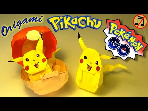 Origami Pikachu (no music)