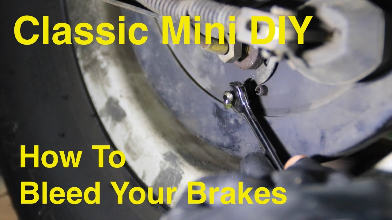Classic Mini Diy How To Bleed Your Brakes Youtube Cooper Brake Light Wiring